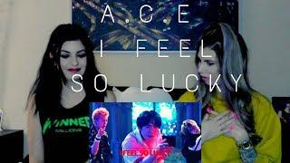 I FEEL SO LUCKY - HCUE FEAT. A.C.E | REACTION | WE'RE SHOOK