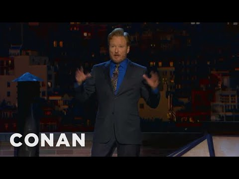 Conan (TV Series) - Watch CONAN @ http://teamcoco.com/video - News stations everywhere put their own unique spin on Conan's same-sex wedding news.