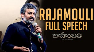 Rajamouli Full Length Speech - Baahubali - The Beginning
