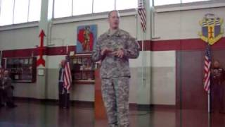 Rice Lake (WI) United States  city photos : Rice Lake, WI National Guard Send Off - Captain Johansen