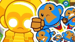 100% WINNING STRATEGY ON HARDEST MISSIONS EVER - BLOONS TOWER DEFENSE 5