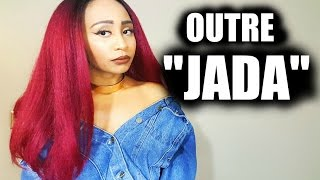 OUTRE JADA WIG!!! GORGEOUS FALL LACE FRONT WIG! COLOR: DR425