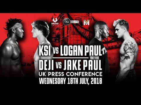 KSI vs. LOGAN PAUL UK PRESS CONFERENCE (OFFICIAL)