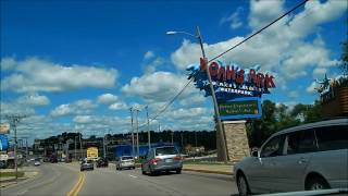 Lake Delton (WI) United States  city pictures gallery : Drive U.S. Route 12 Lake Delton to Wisconsin Dells