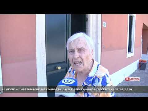 LA GENTE: «L'IMPRENDITORE SI E' COMPORTATO MALE, SERVE MAGGIORE SEVERITA'» | 06/07/2020