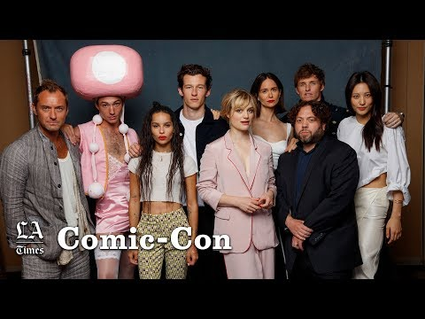 Jude Law has been preparing for his 'Fantastic Beasts' role for a decade   Comic-Con 2018