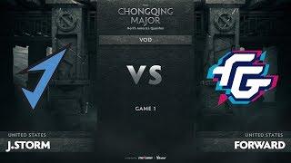 J.Storm vs Forward Gaming, Game 1, NA Qualifiers The Chongqing Major