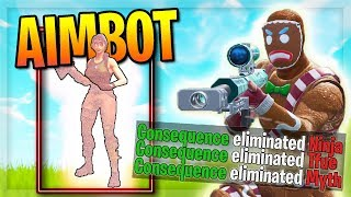 They Talk about my AIMBOT... lol (Killing Twitch Streamers with Reactions)