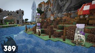 HUGE Skeleton Horse Invasion! :: Minecraft Building w/ BdoubleO ep 389