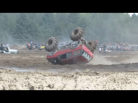 Perkins Big Crash Freestyle Mudding At Michigan Mud Jam 2013 View 1