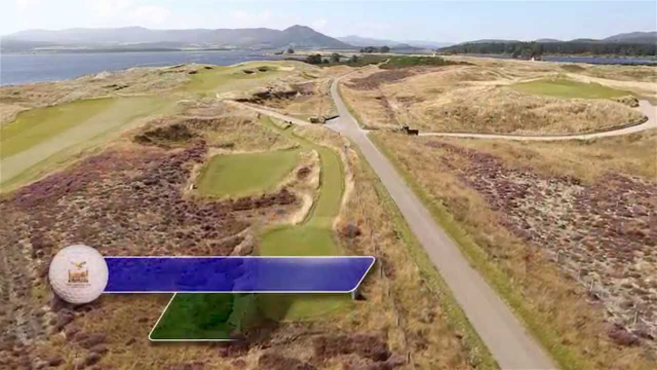 Carnegie Links Hole 7 - YouTube video