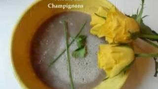 Soupe Express Avec Blender Chauffant - Velouté Aux Champignons
