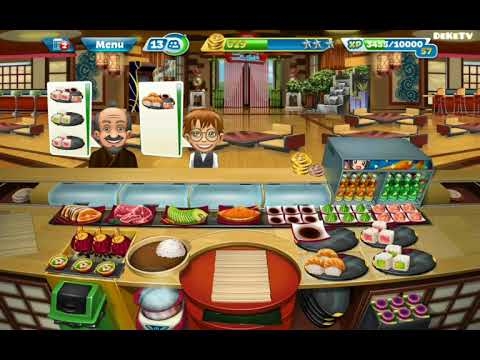 Cooking Fever - Sushi Restaurant Level 25 | Enjoy Cooking Game