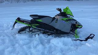 7. Behind The Scenes: 2018 Arctic Cat ZR 8000 137
