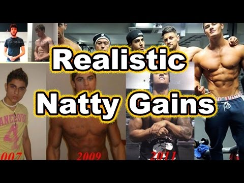 Natty muscle gain expectations