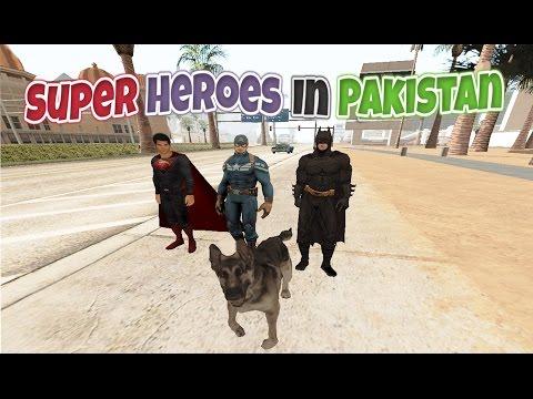 Superheroes In Pakistan | THE DOG (видео)