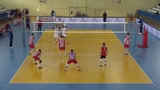 Vojvodina NS SEME vs. Crvena Zvezda, White No.8