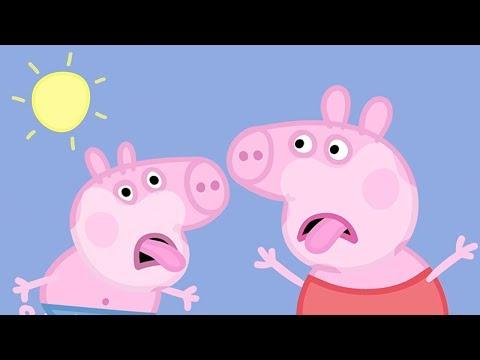 Peppa Wutz 🌞 Ein Sehr Heißer Tag 🍨 Peppa Pig Deutsch Neue Folgen | Cartoons für Kinder