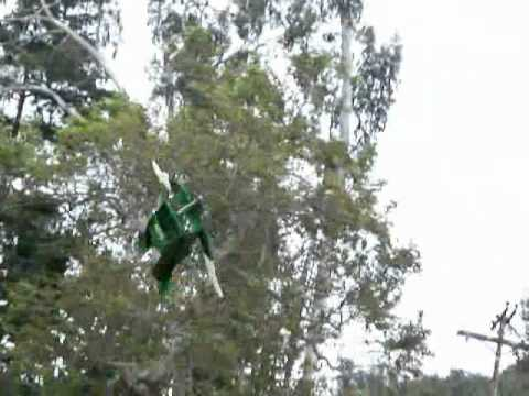 RC Superman with Cape and more Green Lantern flown by Otto Dieffenbach