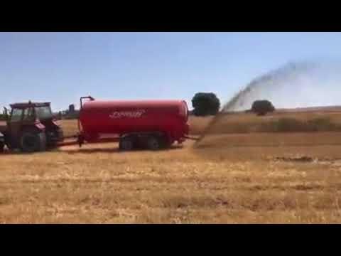 Tosun Sıvı Gübre Dağıtma Tankeri