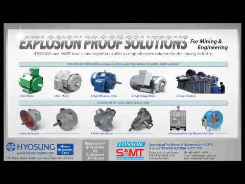 Hyosung Motors, Generators and Gears from TONSON