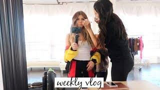 Work Week At 18 Years Old (vlog) l Olivia Jade