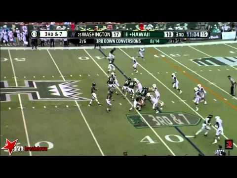 Marcus Peters vs Hawaii 2014 video.