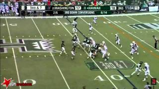 Marcus Peters vs Hawaii (2014)