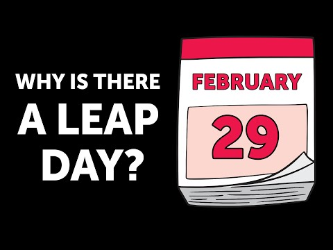 That's Why There Is a Leap Day