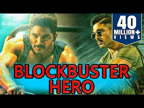 Blockbuster Hero (2018) Telugu Hindi Dubbed Full Movie | Allu Arjun, Anushka Shetty, Manoj Manchu