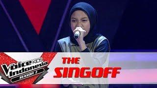 "Video Hamidah ""Dangerous Woman"" | Sing Off | The Voice Kids Indonesia Season 2 GTV 2017 MP3, 3GP, MP4, WEBM, AVI, FLV April 2018"