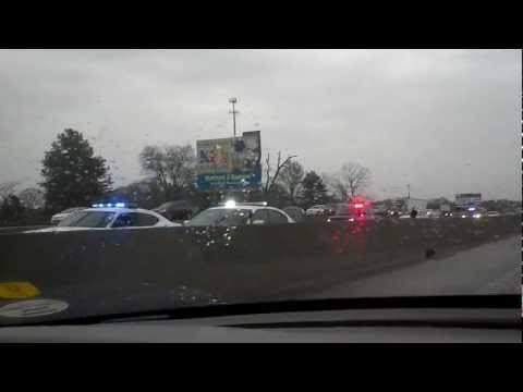 04-02-13 - 4:55pm - ACCIDENT with injury ON I30 Westbound just after Alexander Rd. Exit