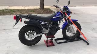10. 2014 Yamaha TW 200 (blue) 1710 Fallen Cycles