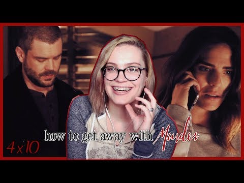 """How to Get Away With Murder Season 4 Episode 10 """"Everything We Did..."""" REACTION!"""