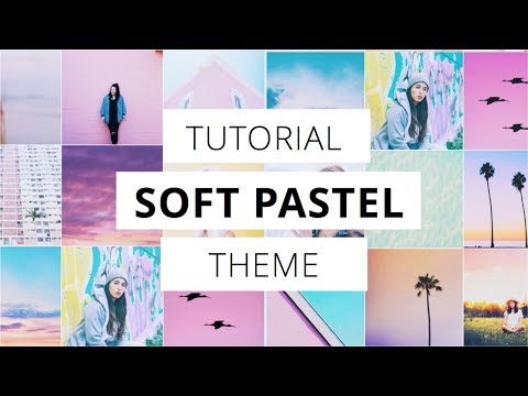 PASTEL INSTAGRAM THEME using Preview App (+ tricks)