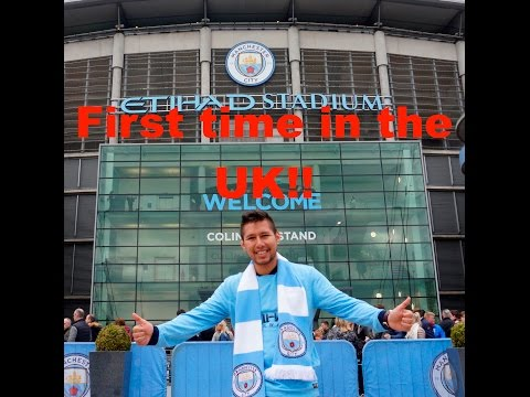 FIRST ROW AT MANCHESTER CITY!!! | V L O G  08