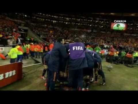 Gol Iniesta final mundial 2010 sonido canal plus