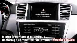 Cet article est disponible à l'achat sur notre site http://www.elec-auto.comTous nos produits sont en stock et expédiés par colissimo suivi 48hCe DVD contient un logiciel pour débloquer la vidéo en roulant pour toutes les voitures MERCEDES BENZ équipées d'autoradios Comand APS NTG 2.5 - NTG 4 - Comand Online NTG 4.5, NTG 4.7 et NTG 5FONCTIONNEMENT ET INSTALLATION SIMPLE ET RAPIDEInsérez seulement le DVD dans le lecteur, deux minutes plus tard, la vidéo en roulant est activée et vous pourrez utiliser vos fonctions TV, DVD, internet d'origine même en conduisant/roulant.Le déblocage retire toutes les limitation en roulant, y compris l'entrée de destinations dans le GPS et la navigation internet.Ne nécessite aucune installation logicielle ni aucun module externe.AUTORADIOS COMPATIBLESComand APS NTG 2.5Comand APS NTG 4Comand Online NTG 4.5 et NTG 4.7Comand Online NTG 5Autoradios compatibles MERCEDESComand APS NTG 2.5 - NTG 4Comand Online NTG 4.5, NTG 4.7 et NTG 5VÉHICULES COMPATIBLESClasse A W169 W176 à partir de 06/2008Classe B W245 W246 à partir de 06/2008Classe C W204 W205 à partir de 03/2007Classe C Break (Estate) S204 S205 à partir de 02/2011Classe C Coupe C204 à partir de 06/2011Classe CLA C117 à partir de 04/2013Classe CLC CL203 à partir de 09/2008Classe CLS C218 C219 à partir de 04/2008Classe CLS Shooting Brake X218 à partir de 10/2012Classe E W211 W212 à partir de 06/2008Classe E Break (Estate) S211 S212 à partir de 06/2008Classe E Coupe C207 à partir de 05/2009Classe E Cabrio A207 à partir de 03/2010Classe G G463 W463 à partir de 10/2008Classe GL X164 X166 à partir de 08/2009Classe GLA X156 à partir de 12/2013Classe GLC X253 à partir de 09/2015Classe GLK X204 à partir de 10/2008Classe M W164 W166 à partir de 09/2008Classe R W251 à partir de 06/2008Classe S W222 à partir de 07/2013Classe S Coupé C217à partir de 09/2014Classe SL R230 R231 à partir de 04/2008Classe SLK R171 R172 à partir de 04/2008Classe V W447 à partir de 05/2014Mercedes-AMG GT C190Mercedes SLS A
