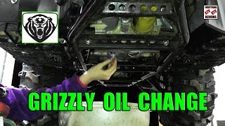 6. Grizzly 700 Oil Change