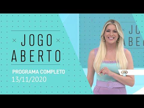 JOGO ABERTO - 13/11/2020 - PROGRAMA COMPLETO
