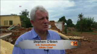 The United Nations' aid chief and agencies report a spiraling violence between armed factions in Central African Republic which...