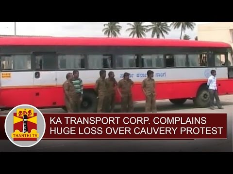 Karnataka-Transport-Corporation-complains-Huge-Loss-ahead-of-Cauvery-Protest