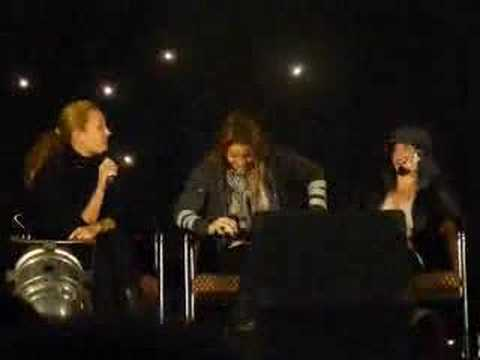 the L word - Kate, Leisha y Erin - Convención L3 - Blackpool