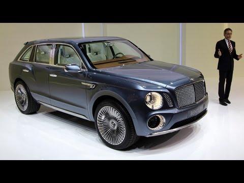 Bentley Makes Ultraluxury SUV