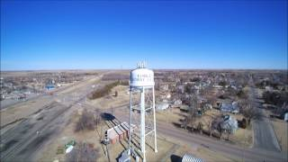 Water Tower-City of Kinsley, Ks-chroma blade