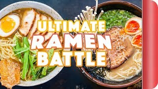 ULTIMATE CHEF Vs. CHEF RAMEN BATTLE (The Brownie Point Finale) by SORTEDfood