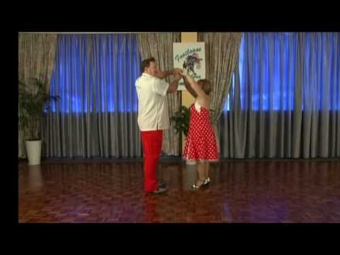 50's Rock n' Roll Dance - Free Lesson No:2 - A Footloose learn to dance DVD
