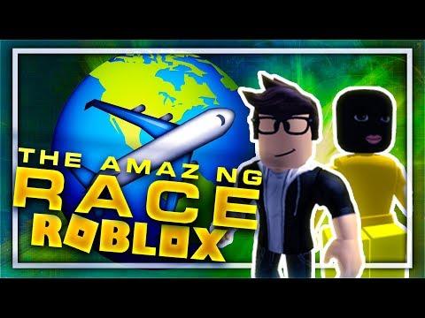 ROBLOX AMAZING RACE W/ FRIENDS!