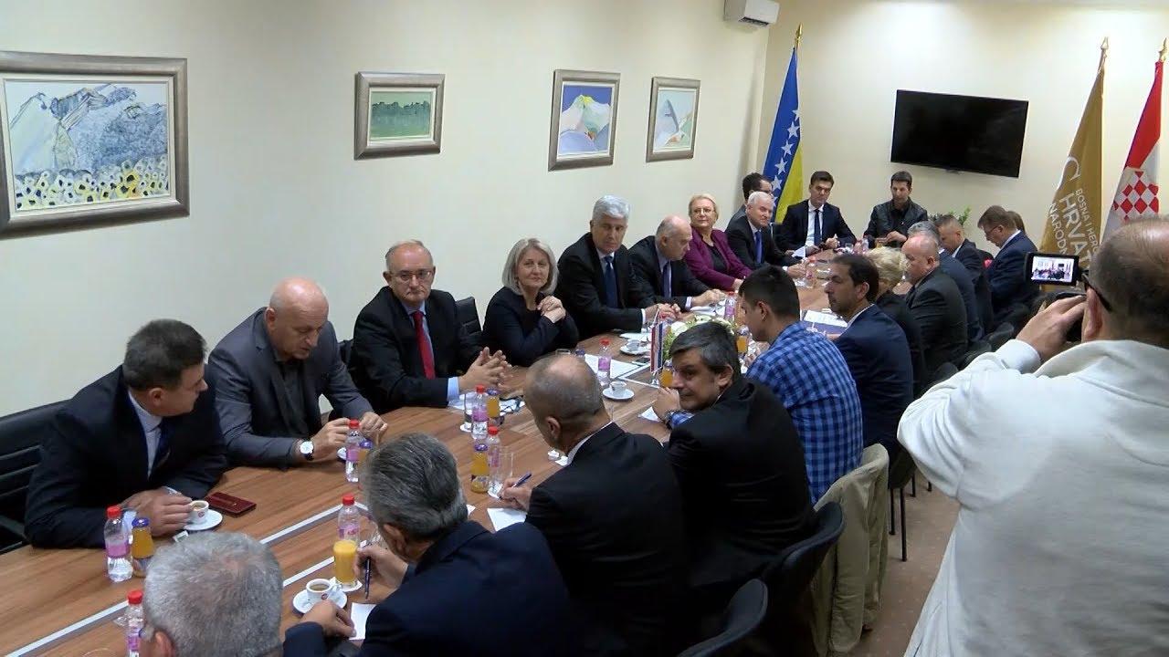 HNS BiH u budućim aktivnostima nastupa kao jedinstven politički blok bh. Hrvata