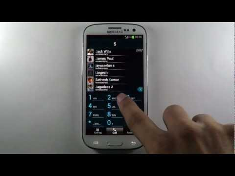 Video of TAKEphONE contacts dialer